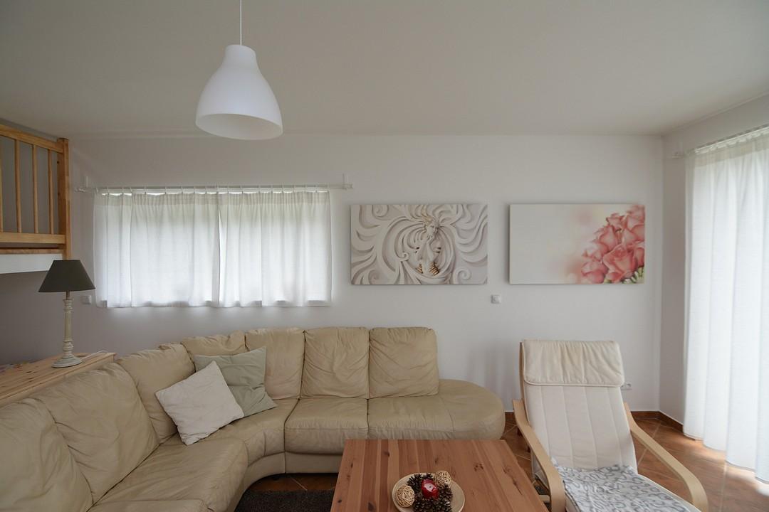 WE 900, obývací pokoj