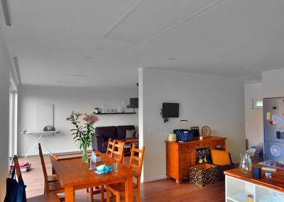 Wellina 1100W, strop v rámu, obývací pokoj