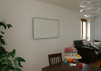 IHS 900, bílý, alu rám, obývací pokoj