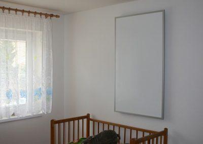 IHS 900, bílý panel, alu rám