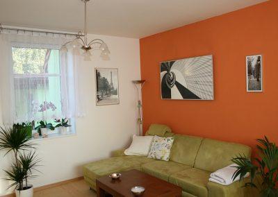 IHS 900, motiv Redwell, alu rám, umístění obývací pokoj