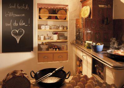 Infrapanel topná tabule Wellina alu rám - infratopení v kuchyni