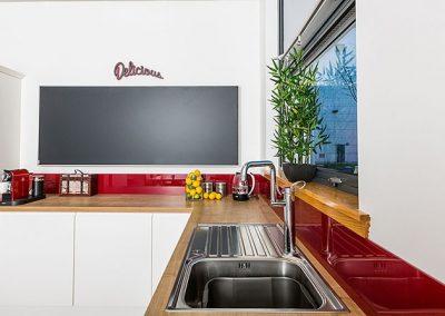 Infrapanel topná tabule Wellina alu rám - infratopení v kuchyni 1400W