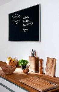 Infrapanel topná tabule Wellina alu rám - infratopení v kuchyni stylové
